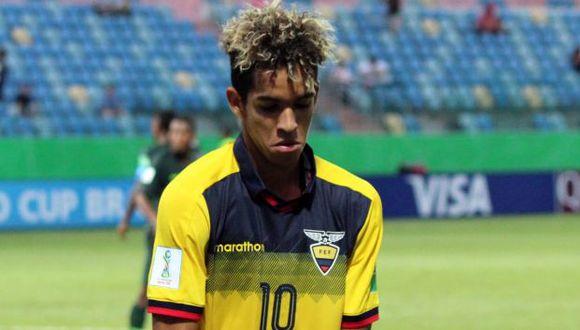 Johan Mina fue el goleador del Sudamericano Sub-17 del 2019, con 6 anotaciones. (Foto: Federación Ecuatoriana de Fútbol)