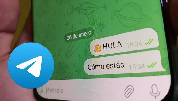 De esta forma podrás editar un texto en Telegram así lo haya leído la otra persona. (Foto: Depor)
