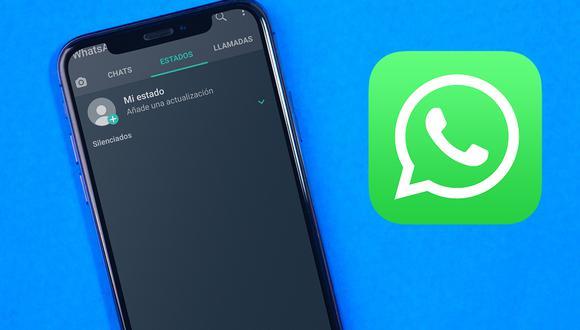 Los Estados de WhatsApp puedes silenciarlos, bloquearlos o aplicar diversos trucos en ellos. (Foto: WhatsApp)