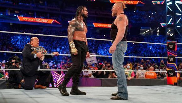SummerSlam 2021 se convirtió en la edición más vista de toda su historia en WWE. (WWE)