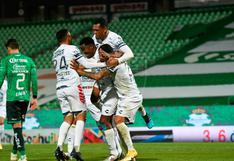 Los 'Tuzos' dominaron en la Comarca: Pachuca gano 3-0 a Santos y clasificó a cuartos de final de la Liga MX