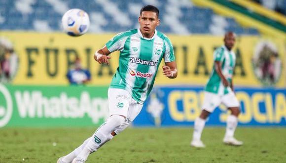 Fernando Pacheco ha sido suplente en los doce partidos en los que ha participado en Juventude en el Brasileirao. (Foto: Juventude)