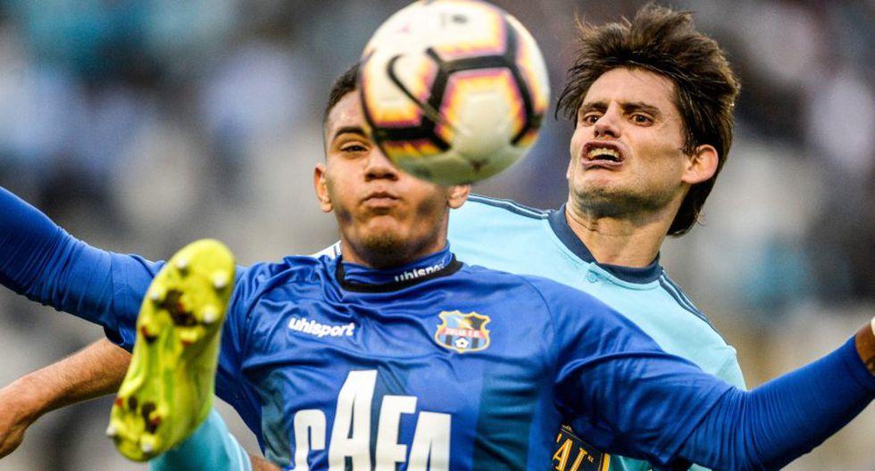Sporting Cristal ganó  Zulia FC pero no le alcanzó para clasificar. (AFP)