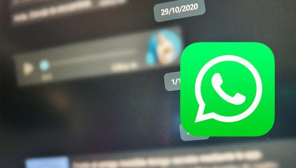 De esta forma todo lo que escribes en WhatsApp no se verá en tu computadora. (Foto: Depor)