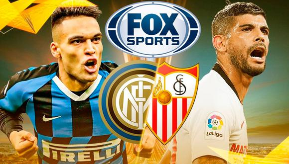 ▷ VER canal FOX Sports EN VIVO: transmite Sevilla-Inter por final de Europa League