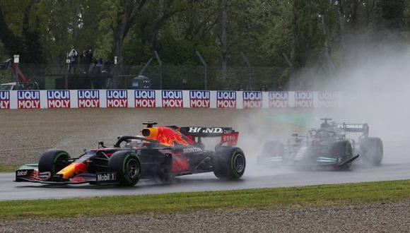 Max Verstappen iguala a Lewis Hamilton en el Mundial de la F1. (Foto: Reuters)