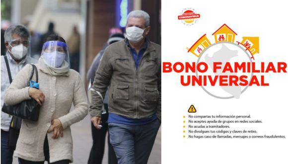 Bono Familiar Universal, Bono Yo me quedo en casa del Midis: conoce todos los detalles.
