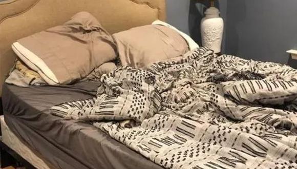 Encuentra al perro escondido dentro de la habitación cuanto antes. (Foto: The Sun)