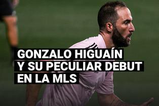 El debut de Gonzalo Higuaín con el Inter Miami que terminó en burlas