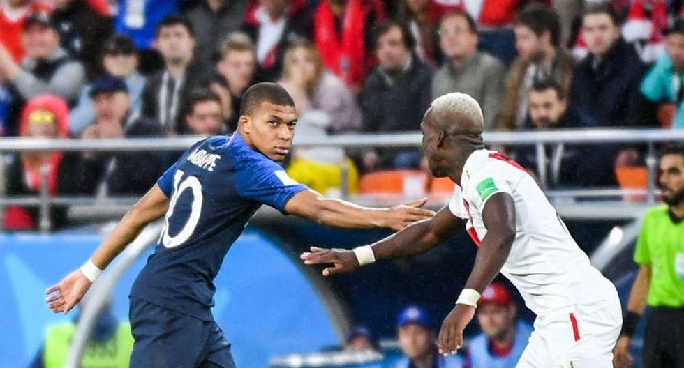 Kylian Mbappé enfrentó a Perú en el Mundial de Rusia 2018. (Getty Images)