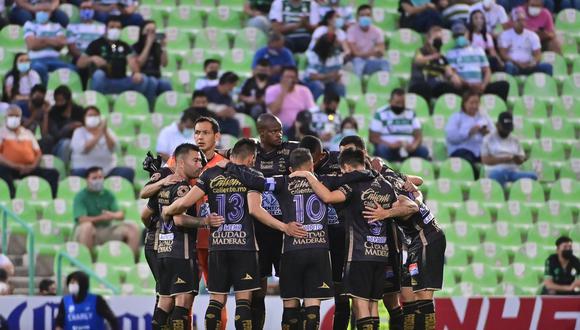 Santos Laguna vs. León se vieron las caras este domingo por la jornada 12 de la Liga MX 2021 (@clubleonfc)