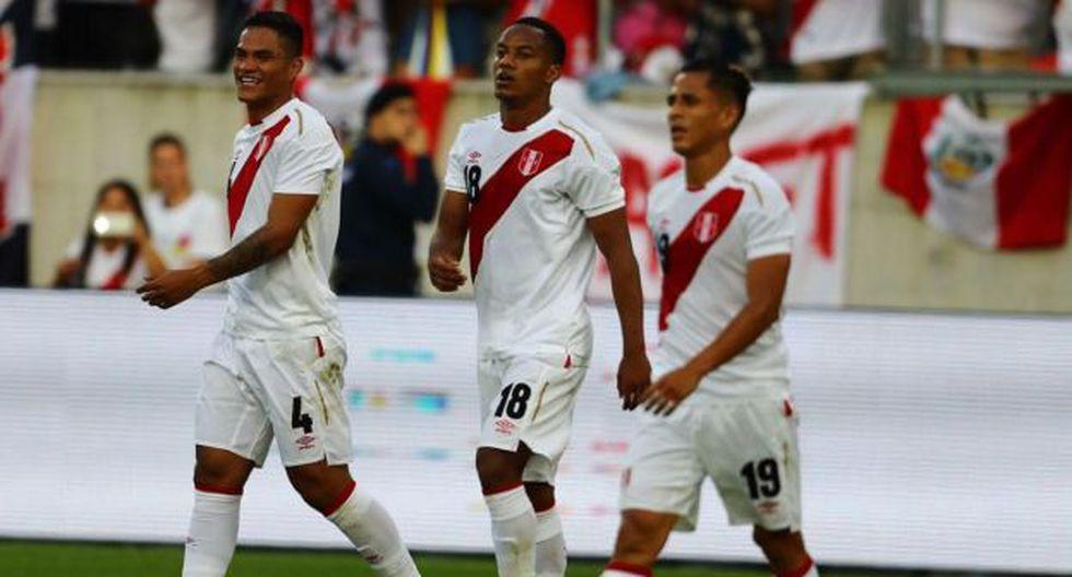 Carrillo, Santamaria y Yotun, jugadores que apuntan a emigrar. (Foto: Daniel Apuy)