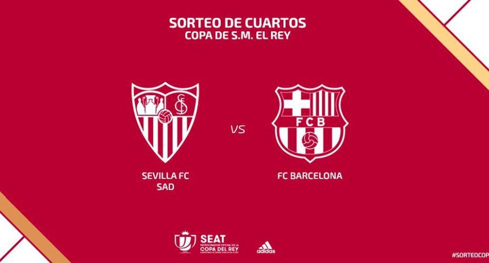 Barcelona vs Sevilla: fecha, horarios y canales por cuartos ...