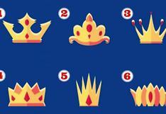 Test: escoge la corona que más te guste y descubre el tipo de persona que eres