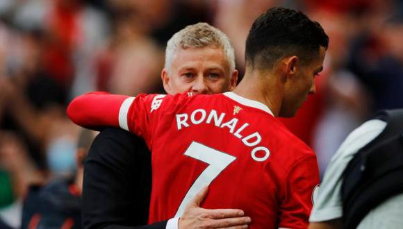 Ole Gunnar Solskjaer aclaró actitud de Cristiano Ronaldo en el partido de Champions League. (Foto: Reuters)