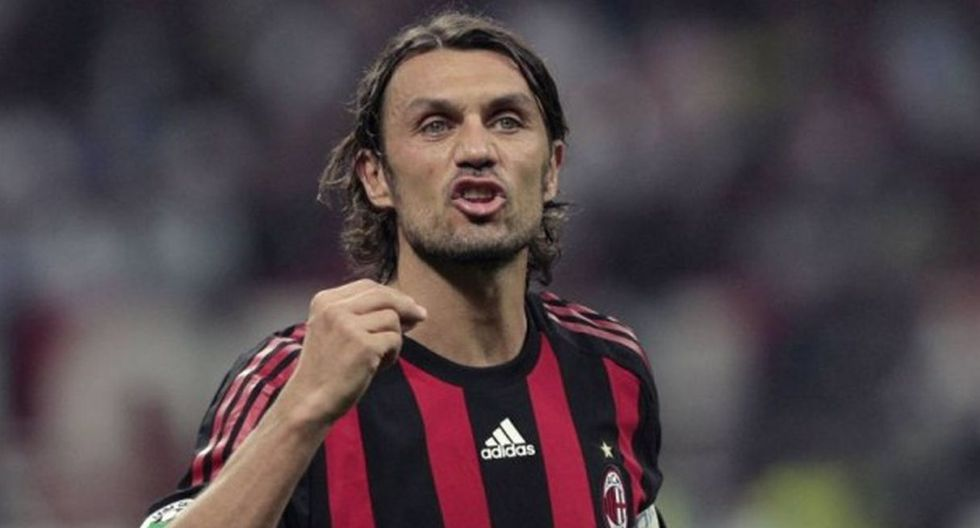 Paolo Maldini. (Getty)