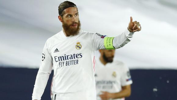 Sergio Ramos tiene contrato con Real Madrid hasta junio de 2021. (AFP)