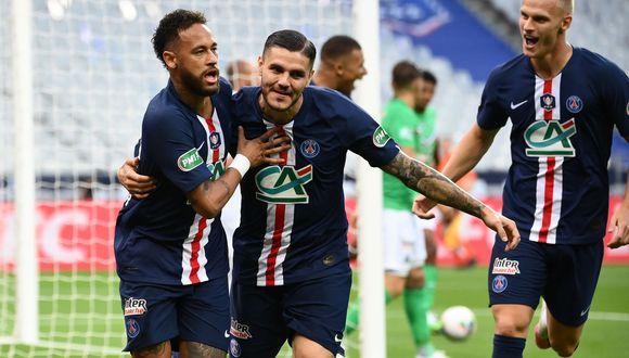 PSG vs. Saint Etienne se enfrentaron en la final de Copa de Francia. (Foto: Agencias)