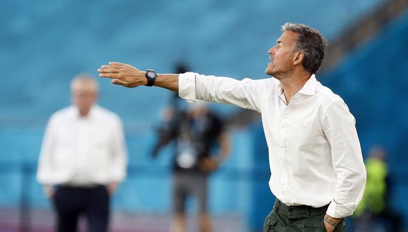 Luis Enrique es entrenador de España desde la temporada 2018. (Foto: Reuters)