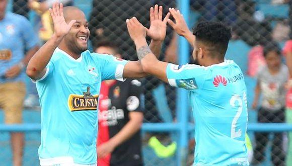 Sporting Cristal enfrentó a la San Martín en dos partidos el último sábado. (USI)