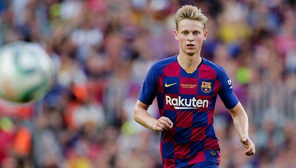 Con un 3-2-5, así sería el nuevo sistema del Barcelona | De Jong. (Getty)