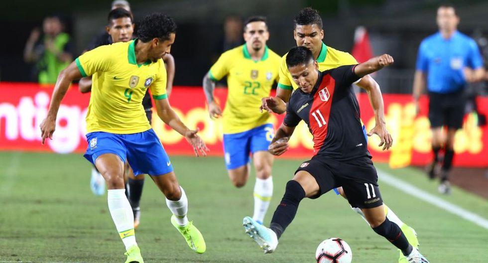 Perú vs. Brasil en el Memorial Coliseum de Los Ángeles (Foto: Fernando Sangama / GEC)