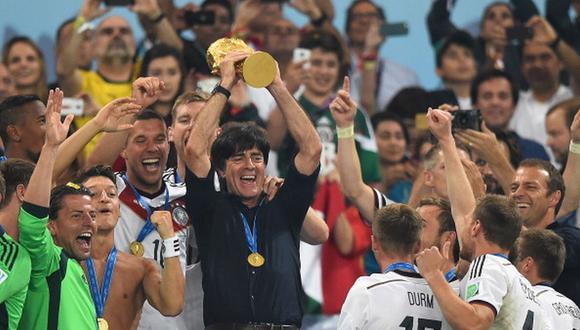 Joachim Löw ganó el Mundial 2014 con la selección de Alemania. (Getty)