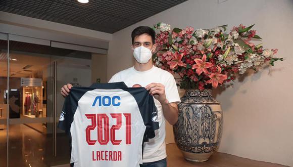 Jonathan Lacerda ya sumó 180 minutos con Alianza Lima en la Liga 1 (Foto: Prensa AL)