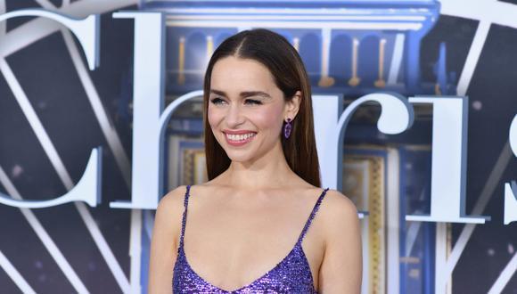 """Emilia Clarke se uniría al Universo Cinematográfico de Marvel en """"Secret Invasion"""". (AFP)."""
