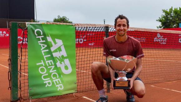 Daniel Galán venció al argentino Thiago Tirante y ganó el Challenger de Lima 2020. (Mauricio Espinoza / IGMA Sports)