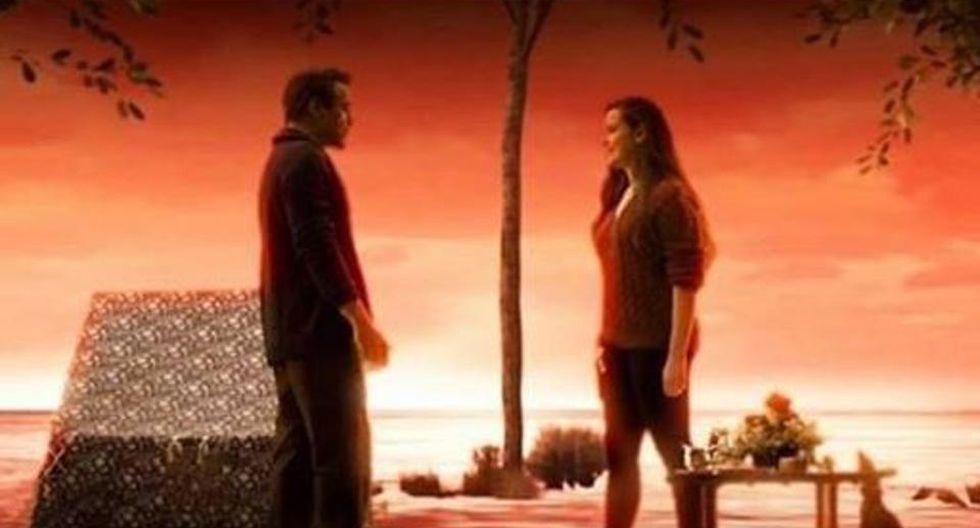 """Tony Stark y Morgan Stark en el """"Mundo Alma"""" (Foto: Marvel Studios)"""