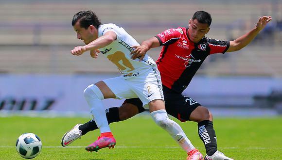 Pumas vs. Atlas jugaron este domingo por la jornada 1 de la Liga MX 2021 (Foto: Getty Images)