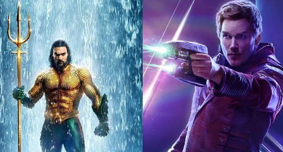 ¿Aquaman vs Star Lord? Los dos personajes tuvieron una acalorada discusión en redes.