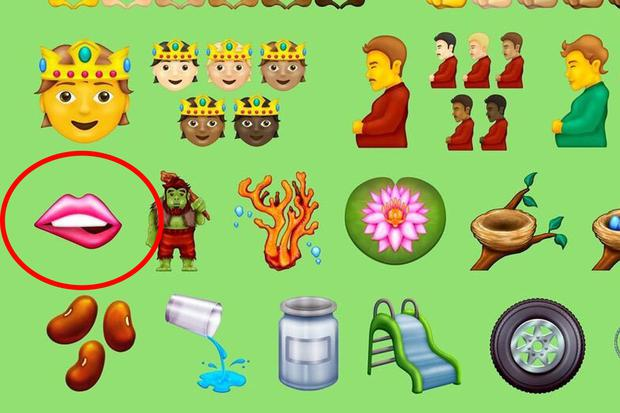 The lip-biting emoji are part of the new icons that will soon enter WhatsApp.  (Photo: Unicode)