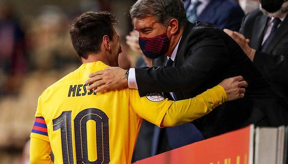 Lionel Messi tiene contrato con el Barcelona hasta el 30 de junio de 2021. (Getty)