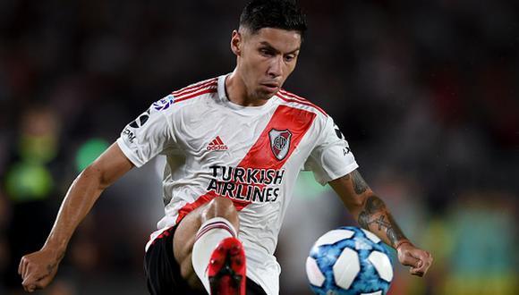 Gonzalo Montiel tiene mononucleosis, confirmó River Plate (Foto: Getty Images)