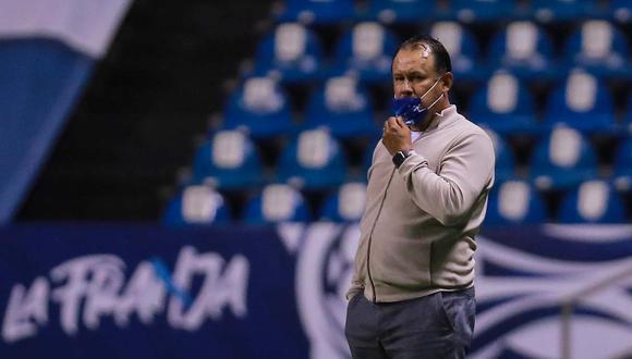 Juan Reynoso valoró la victoria de Cruz Azul contra Tigres en la Liga MX. (Foto: Getty Images)
