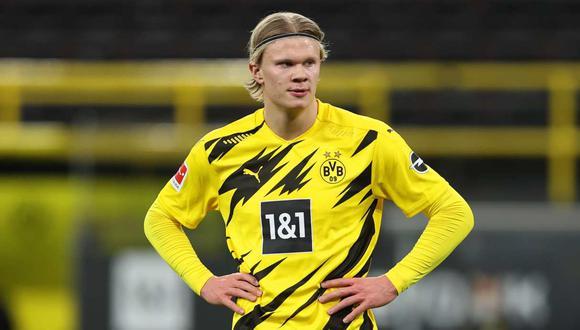 Erling Haaland tiene contrato con el Borussia Dortmund hasta el 2022. (Foto: EFE)