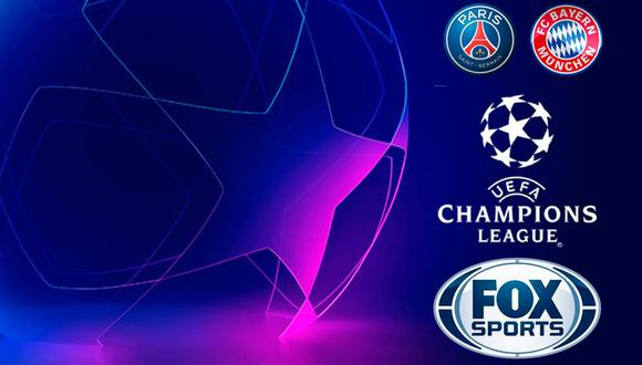 Click a Canal FOX Sports EN VIVO: GRATIS, la final de Champions League 2020