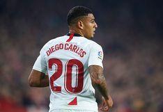 Le pone el ojo: Real Madrid observará el nivel de Diego Carlos en el partido ante Sevilla por LaLiga
