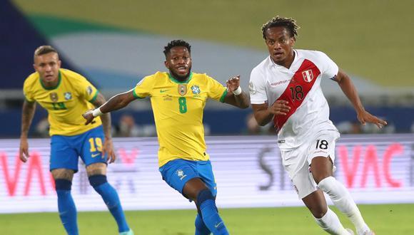 Perú vs. Brasil por la Copa América 2021 (Foto: FPF)