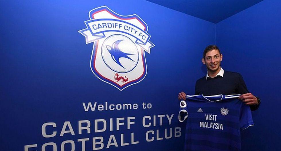 Sala había fichado recientemente por el Cardiff City. (Getty)