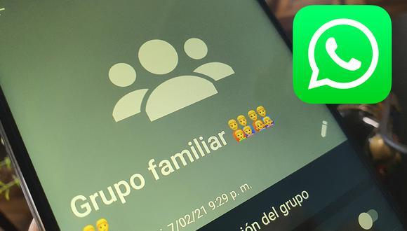 ¿Ya no quieres pertenecer a algún grupo de WhatsApp? Este es el método que debes probar para salir. (Foto: Depor)