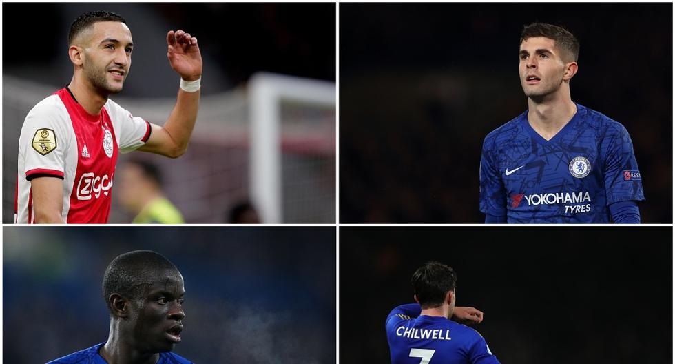 El XI del Chelsea para 2020-21. (Getty)