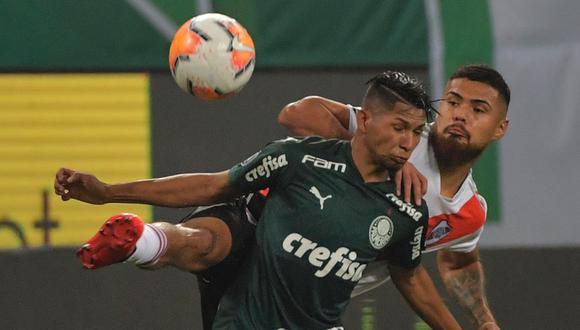 River Plate ganó 2-0 a Palmeiras, pero no el alcanzó para clasificar a la final de la Copa Libertadores. Mira aquí los goles del partido. (Foto: AFP)