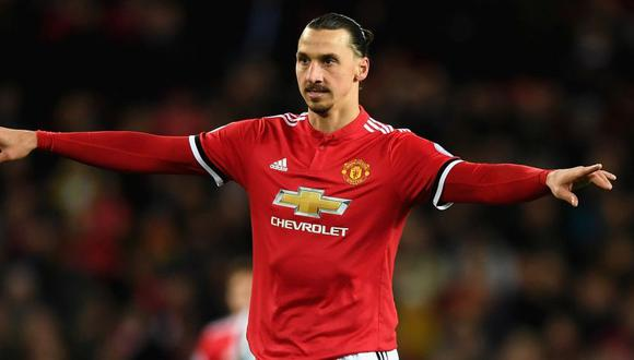 Zlatan Ibrahimovic dejará Manchester United a final de temporada (Foto: Getty Images).