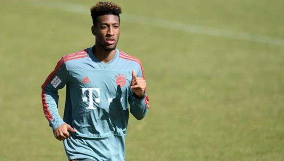 Kingsley Coman multado por el Bayern Munich. (Foto: AFP)