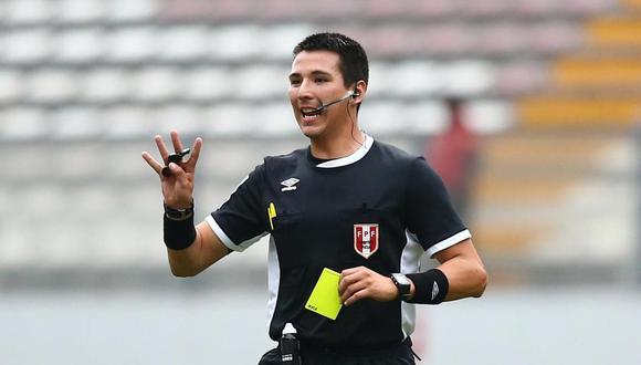 Kevin Ortega dirigió tres partidos en el Preolímico Sub 20 de Colombia
