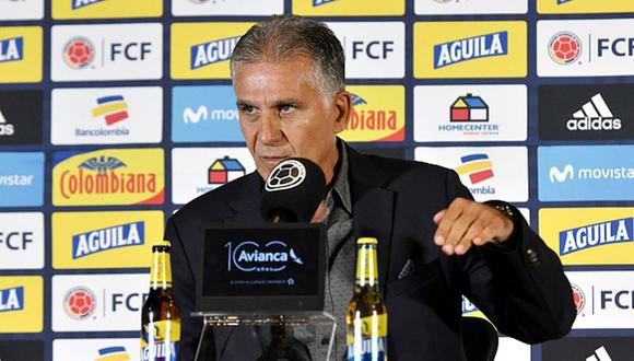Carlos Queiroz es actualmente entrenador de la selección de Colombia. (Foto: Getty Images)
