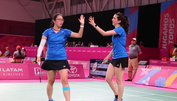 Daniela y Danica son las mejores sudamericanas ubicadas en el ranking de dobles de la BWF: puesto 56. (Foto: GEC)